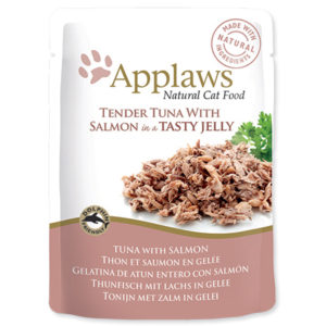 APPLAWS kapsa TUNA/SALMON v želé - 70g