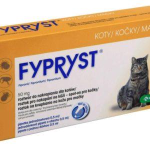 Antiparazitní spot-on  FYPRYST  kočka - KOČKA