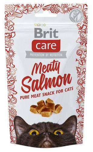 BRIT CARE cat SNACK  MEATY SALMON   - 50g