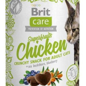 BRIT CARE cat SNACK  SUPERFRUITS CHICKEN  - 100g