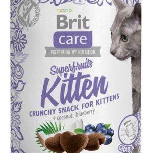 BRIT CARE cat SNACK  SUPERFRUITS  KITTEN  - 100g