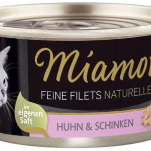 MIAMOR konzerva Feine Filets 100g - Kuře a šunka