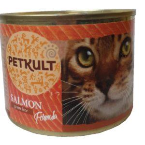 PETKULT  cat konz.  LOSOS - 185g (9 + 3 gratis)