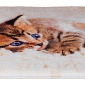 Podložka (obdélník) TILLY protiskluzová s koťátkem - 50x40cm