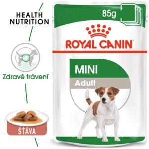 Royal Canin Mini Adult - kapsička pro dospělé malé psy - 6x85g