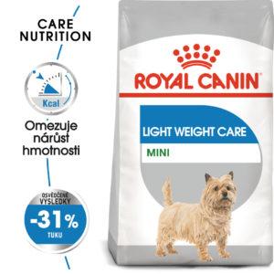 Royal Canin Mini Light Weight Care - dietní granule pro psy - 1kg