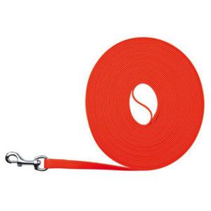 Vodítko  EASY LIFE trekové  PVC  neon oranžové - 1