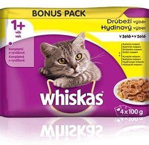 Whiskas Adult DRŮBEŽÍ v želé - 4x100g