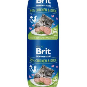 BRIT cat  sausage   180g - KUŘE / KRŮTA - STERILISED