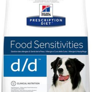 Hills Canine  d/d salmon/rice (dieta) - 12kg