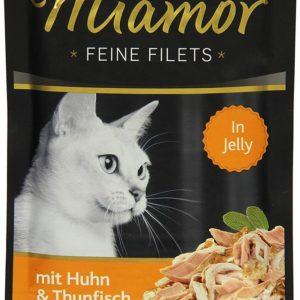 MIAMOR kapsa Feine Filets  100g - Kuře/rajče