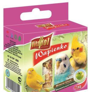 VITAPOL min.kámen ptáci JABLKO - 2ks
