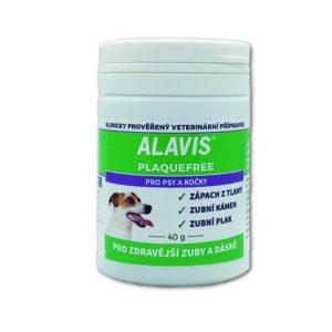 ALAVIS PLAQUE FREE pro psy/kočky   - 40g