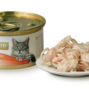 BRIT CARE cat konzerva CHICKEN BREAST - 80g