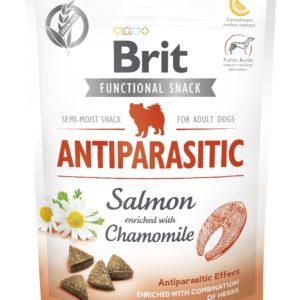 BRIT snack ANTIPARASITIC salmon/chamonile - 150g
