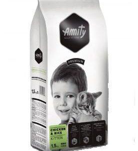 AMITY premium cat   KITTEN chicken/rice - 1
