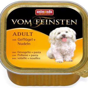 ANIMONDA dog paštika  ADULT 150g                       - Hovězí/krůtí srdíčka