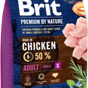 BRIT dog Premium By Nature ADULT S - 2 x 8kg