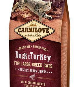 CARNILOVE cat  ADULT LARGE duck/turkey - 6kg