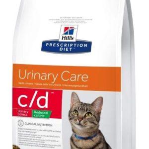 Hills cat  c/d  urinary stress red.calorie - 8kg