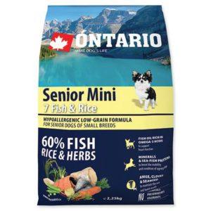 ONTARIO dog SENIOR MINI fish - 6