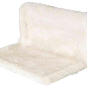 Odpočívadlo závěs. LŮŽKO  béžovo/hnědé - 45x26x31cm