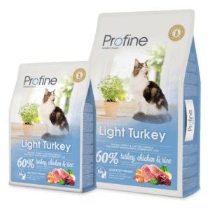 PROFINE cat  LIGHT turkey - 10kg