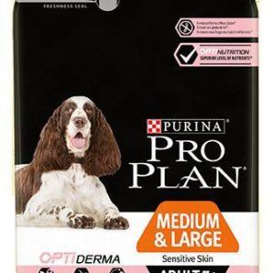 Purina Pro Plan Dog Medium & Large Adult 7+ Sensitive Skin - 14kg