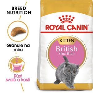 RC cat KITTEN BRITISH shorthair - granule pro britská krátkosrstá koťata - 10kg