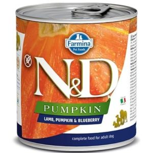N&D dog GF PUMPKIN konz. ADULT lamb/blueberry - 285g