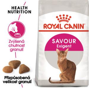 Royal Canin Savour Exigent - granule pro mlsné kočky - 10kg