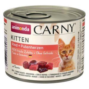 ANIM. cat konz.  CARNY   KITTEN hovězí - 200g