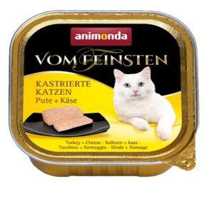 ANIMONDA cat paštika  KASTROVANÁ kočka 100g - Krůta/losos