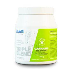 ALAVIS CANNABIS CBD triple blend / extra silný - 700g