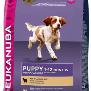Eukanuba PUPPY/JUNIOR lamb - 12kg