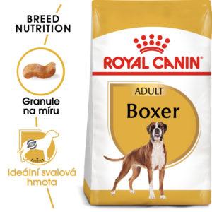 Royal Canin Boxer Adult - granule pro dospělého boxera - 12kg