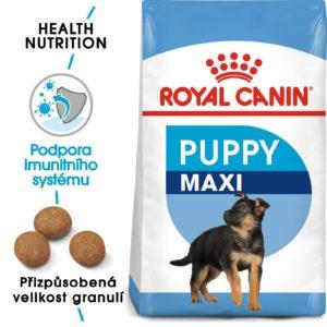 Royal Canin MAXI PUPPY - granule pro velká štěňata - 15kg