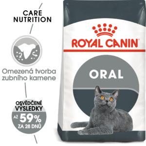 Royal Canin cat Oral Care - granule pro kočky snižující tvorbu zubního kamene - 3