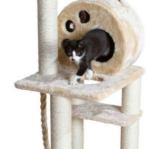 Škrabadlo (trixie) SALAMANCA s kruhovou budkou a myškami - 138cm