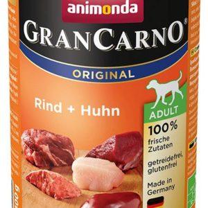 ANIMONDA dog konzerva Gran Carno hovězí/kuře - 800g