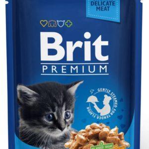 BRIT cat   kapsa  KITTEN  100g - Kuřecí