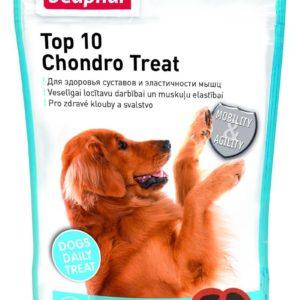Beaphar  pochoutka TOP 10 Chondro Treat s glucosaminem - 150g