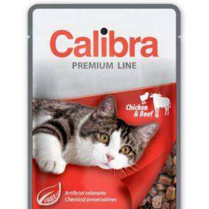 CALIBRA cat  kapsa ADULT  CHICKEN/beef - 100g