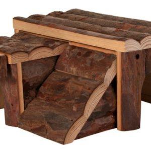 Dřevený domek LUKA pro křečka (trixie) - 14x7x14cm