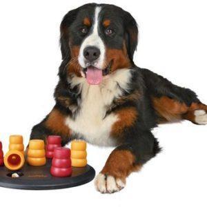 HRAČKA Dog Activity SOLITAIRE - deska s kužely - 29cm
