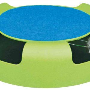 HRAČKA Myš v kruhu se škrábacím kobercem - 25x6cm