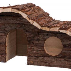 HRAČKA dřevěný DŮM HANNA pro křečka - 26x16x15cm