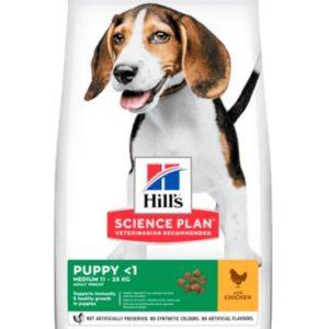 Hills PUPPY MEDIUM  chicken - 18kg