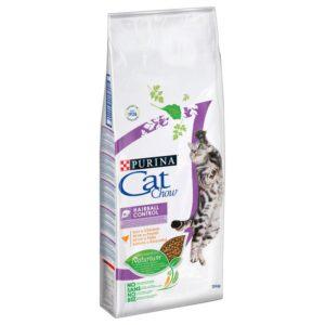 PURINA cat chow  HAIRBALL - 15kg