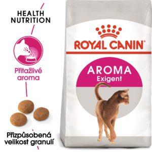 Royal Canin Aromatic Exigent - granule pro mlsné kočky - 10kg